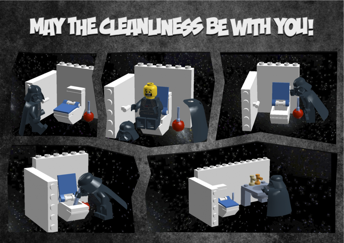May the cleanliness be with you!