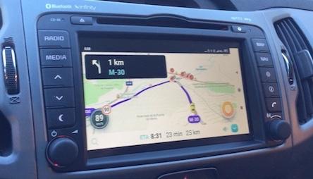 Sportage III Waze w/ Infinity Navigator | BlueMarmot